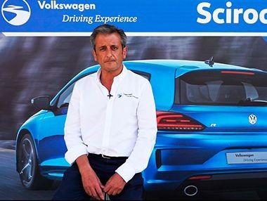 Entrevista a Luis Moya en la VW Driving Experience 2015
