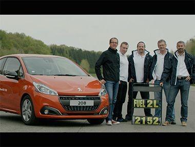 Vídeo Peugeot 208 1.6 BlueHDi 2 l/100 km
