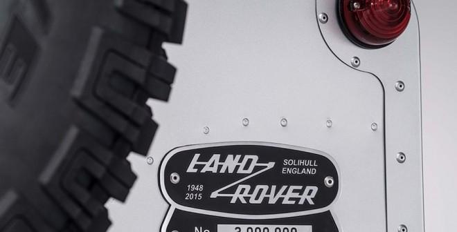 2 millones de Land Rover Defender