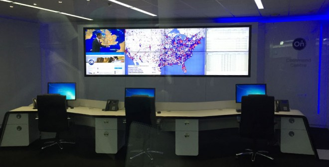Desde aquí monitorizan los movimientos de todos sus clientes