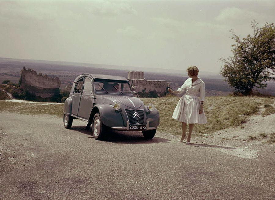 La mayor concentración de Citroën 2CV