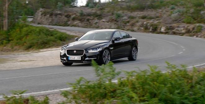 Prueba Jaguar XE 2.0d 180 CV 2015, Baiona, Rubén Fidalgo