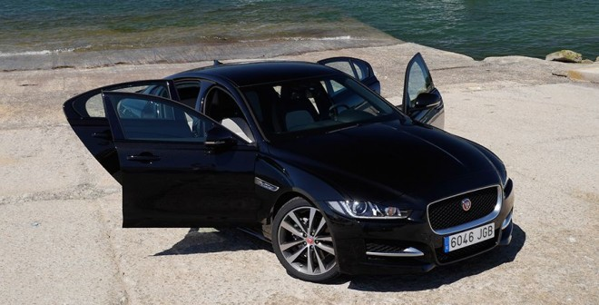 Prueba Jaguar XE 2.0d 180 CV 2015, Canido, Rubén Fidalgo