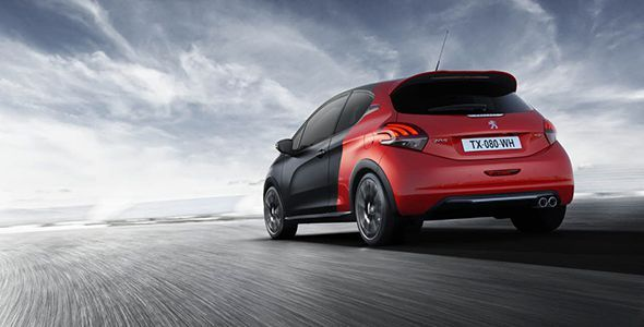 Nueva gama deportiva del Peugeot 208 2015