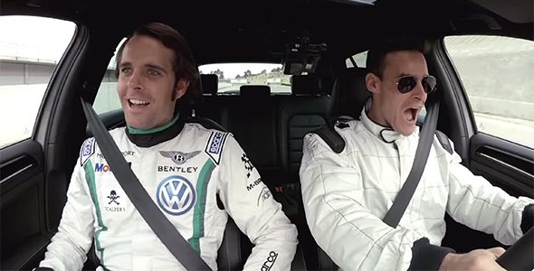 VW y su Golf GTE nos muestran el rostro de la velocidad