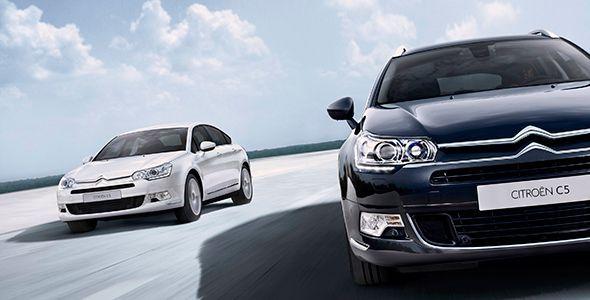 Nuevos motores y gama del Citroën C5 y C5 Tourer 2015