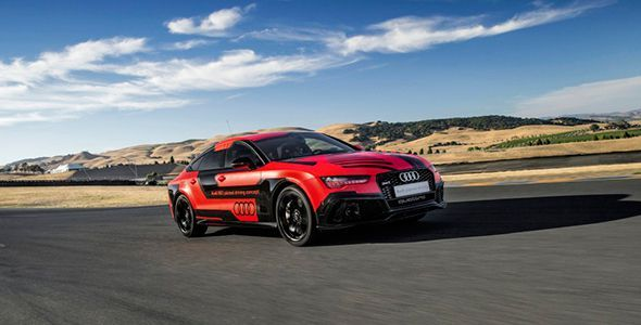 Nuevo Audi RS 7 Piloted Driving Concept 2015