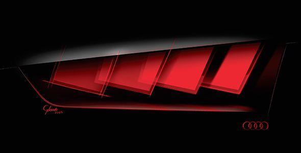 Lo último en iluminación de Audi en Frankfurt 2015