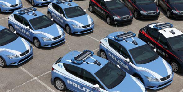 Los carabinieri llevarán Seat León a prueba de balas