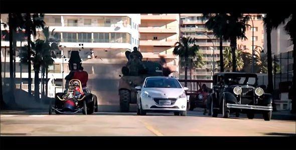 Los Autos Locos y el Peugeot 208 más divertido