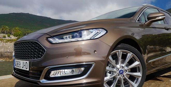 Prueba Ford Mondeo SW Vignale 180 CV, Santa María de Oia, Rubén Fidalgo