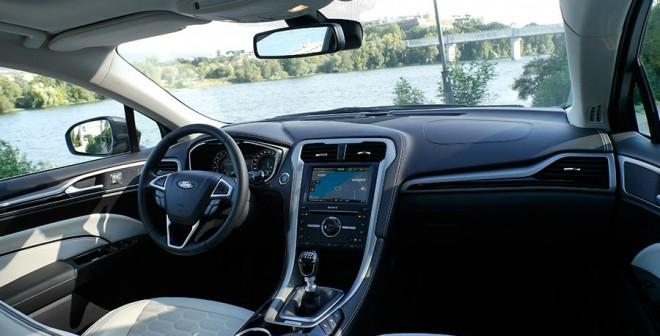 Prueba Ford Mondeo SW Vignale 180 CV, interiores, Rubén Fidalgo