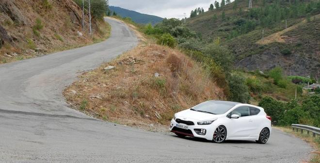 Prueba Kia Cee´d GT 2015, Montefurado, Rubén Fidalgo
