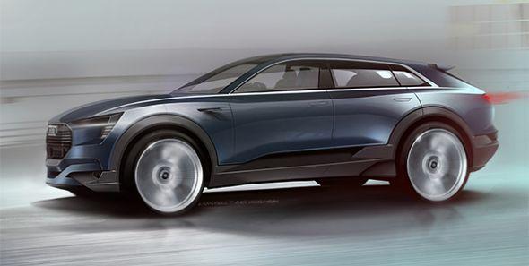 Audi quattro e-tron concept: el futuro ya está aquí