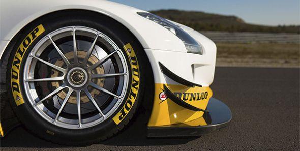 5 fases para producir neumáticos Dunlop para la AMG Driving Academy