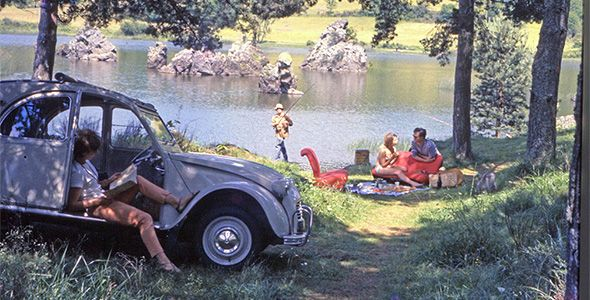 Los Citroën también son para el verano