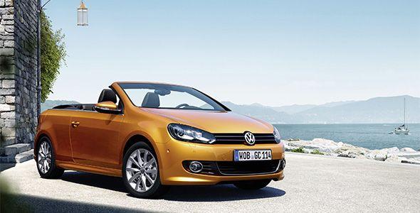Volkswagen presentará su Golf Cabriolet más deportivo