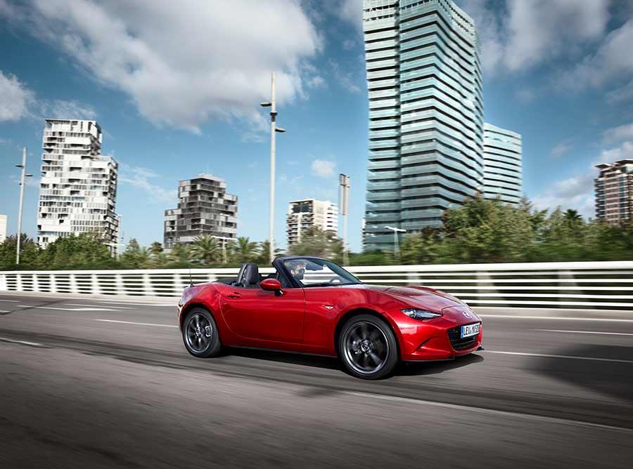 Prueba y presentación del Mazda MX-5 2015
