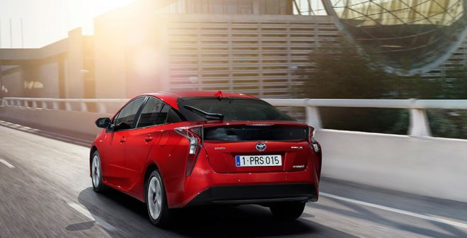 Nuevo Toyota Prius Frankfurt 2015