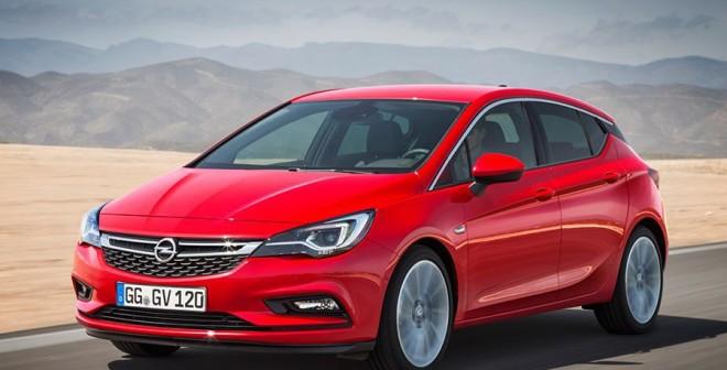 Opel Astra 2016 Salón de Frankfurt 2015