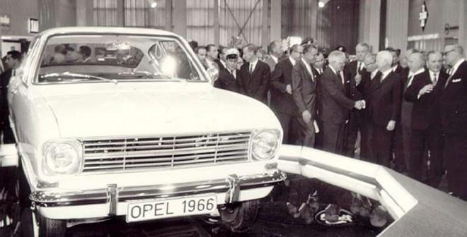 Opel Kadett B Frankfurt 1966