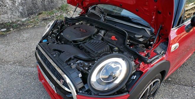 Prueba Mini Cooper S 5 puertas 2015, motor, Rubén Fidalgo