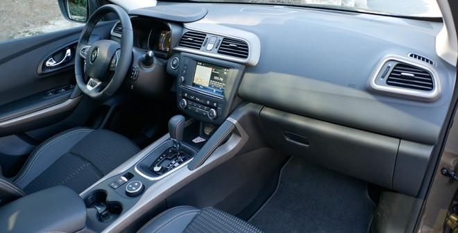 Prueba Renault Kadjar 1.5 dCi 110 CV automático 2015 interior, Rubén Fidalgo