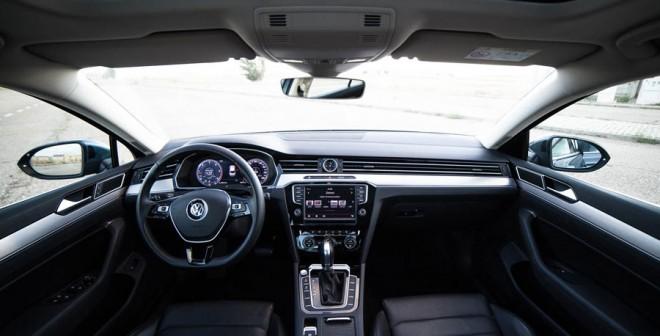 Interior del Volkswagen Passat