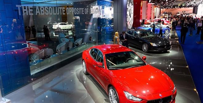 Puesta al día Maserati en Frankfurt 2015