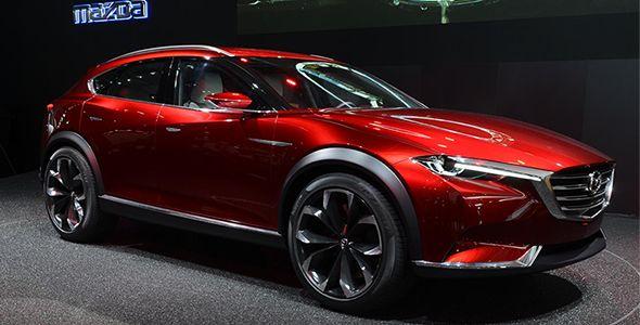 Nuevo Mazda Koeru SUV en el Salón de Frankfurt 2015