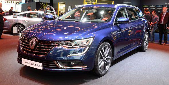 El Renault Talisman Sports Tourer llegará en 2016