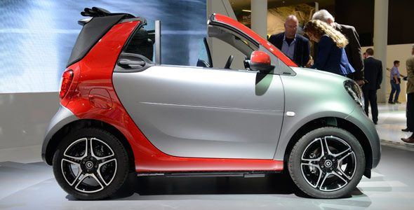 Smart desvela su nuevo cabrio