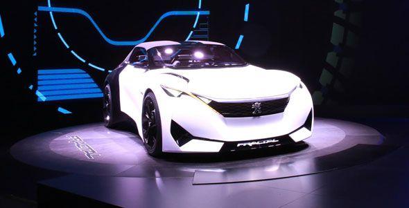 Peugeot Fractal, concept eléctrico para Frankfurt 2015