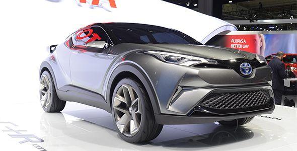 Toyota C-HR Concept en Frankfurt 2015