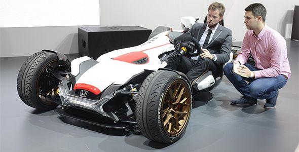 Honda Project 2&4 con el motor RC213V en Frankfurt 2015