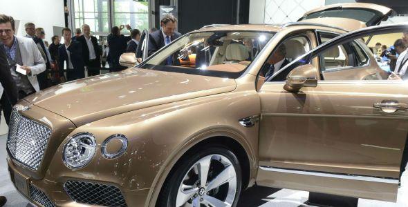 Bentley Bentayga, el SUV más rápido del mundo