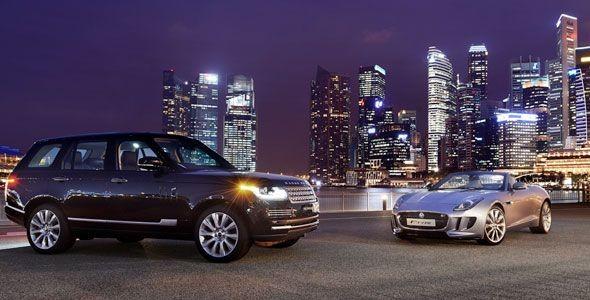 Jaguar y Land Rover en el Salón de Frankfurt 2015