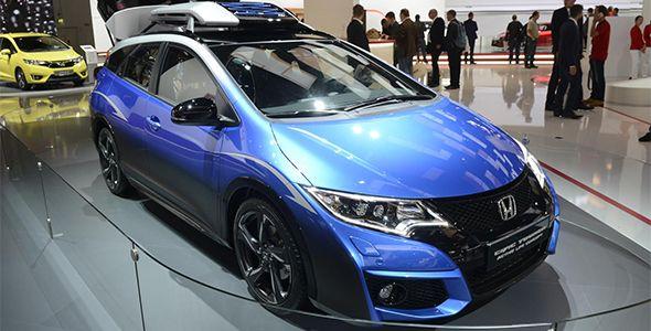 Honda Civic Tourer Active Life Concept en Frankfurt 2015
