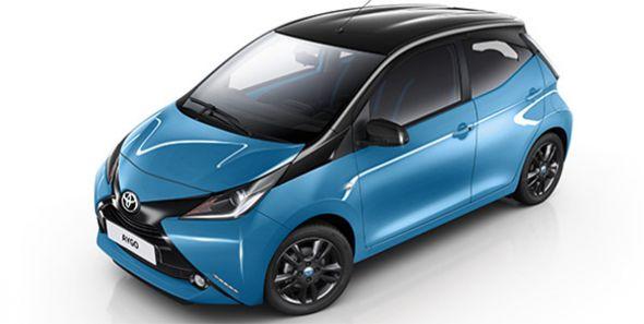 Toyota Aygo X-Cite: una versión especial muy cyan
