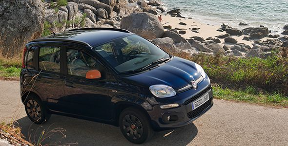 Prueba Fiat Panda 1.2 K-Way 2015