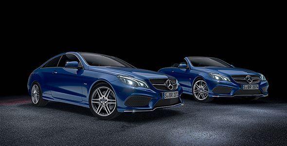 Nuevos Mercedes Clase E Coupé y Cabrio Sport Edition