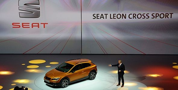 Seat Leon Cross Sport en Frankfurt 2015