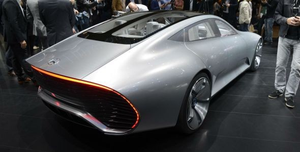 Mercedes Concept IAA, aerodinámica récord