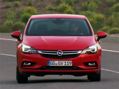 Vídeo: Opel Astra en el Salón de Frankfurt 2015