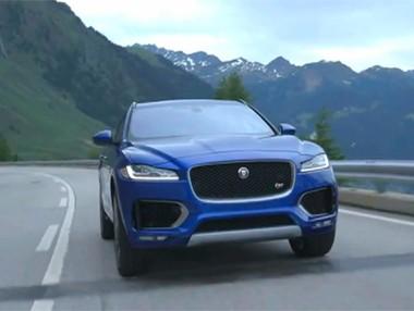Vídeo: Jaguar F-Pace en Frankfurt 2015