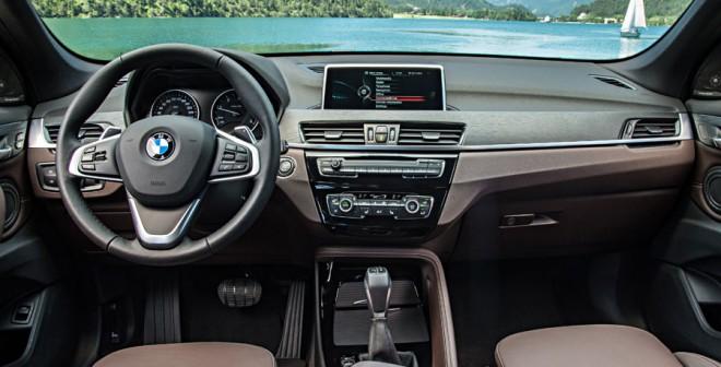 Interior nuevo BMW X1