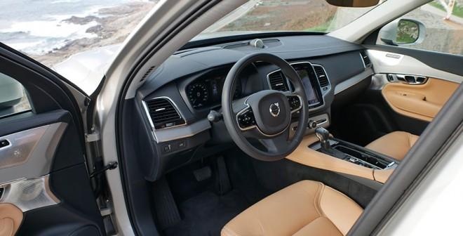 Prueba Volvo XC90 D5 Inscription 2015, interior, Rubén Fidalgo