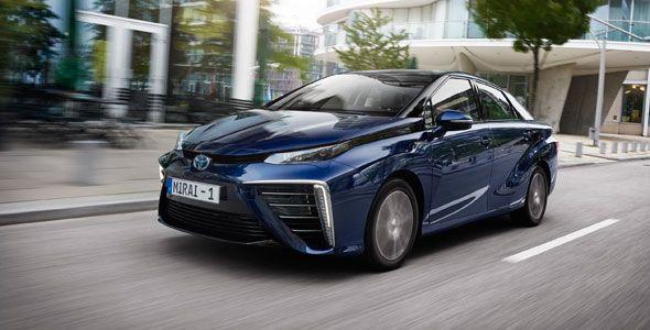 Toyota Mirai, el coche de hidrógeno desembarca en Europa