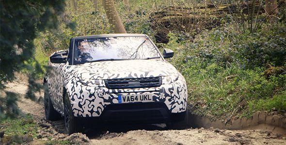 Así fueron los test finales del Range Rover Evoque Convertible