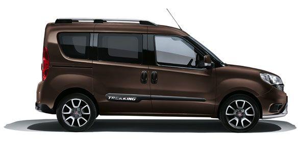 Nuevo Fiat Dobló Panorama Trekking, ya a la venta